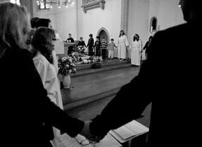 Im Gottesdienst 2012