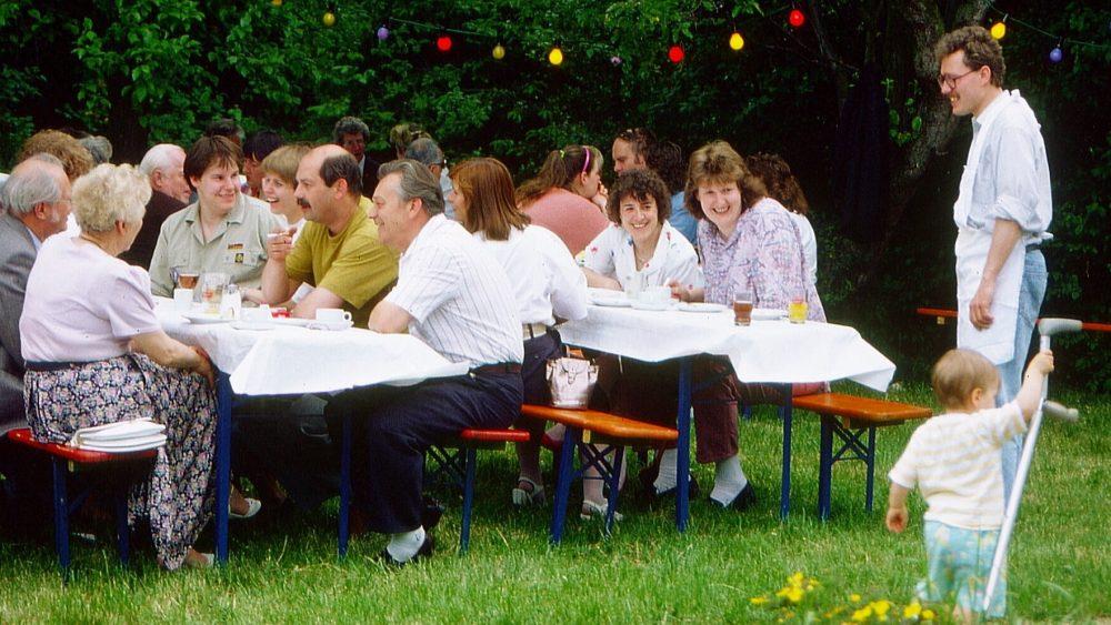 Gemeindefest in Fechenheim 1991