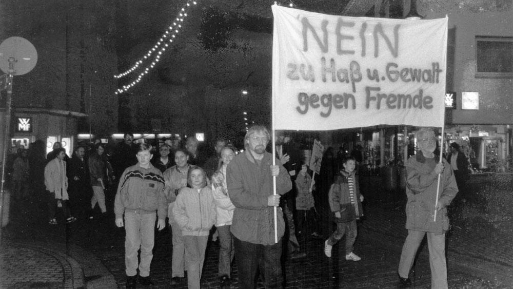Demo nach Mölln 1992