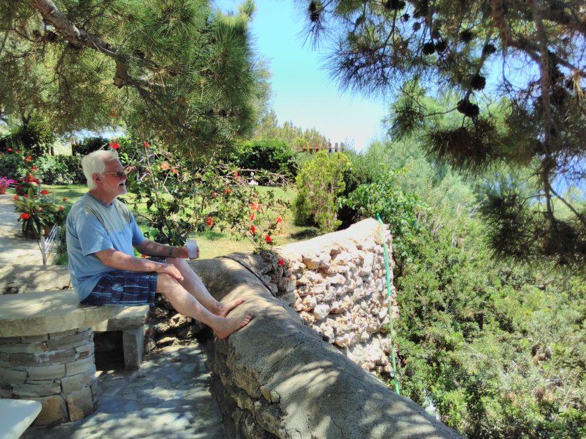 Mittagspause auf Kreta