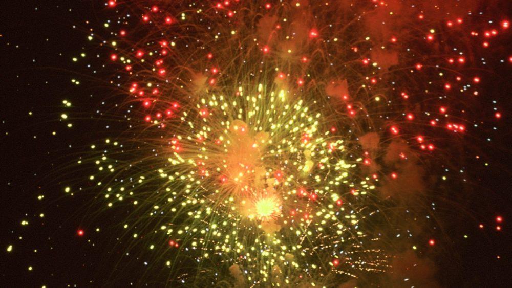 Feuerwerk Fiesta Mahon