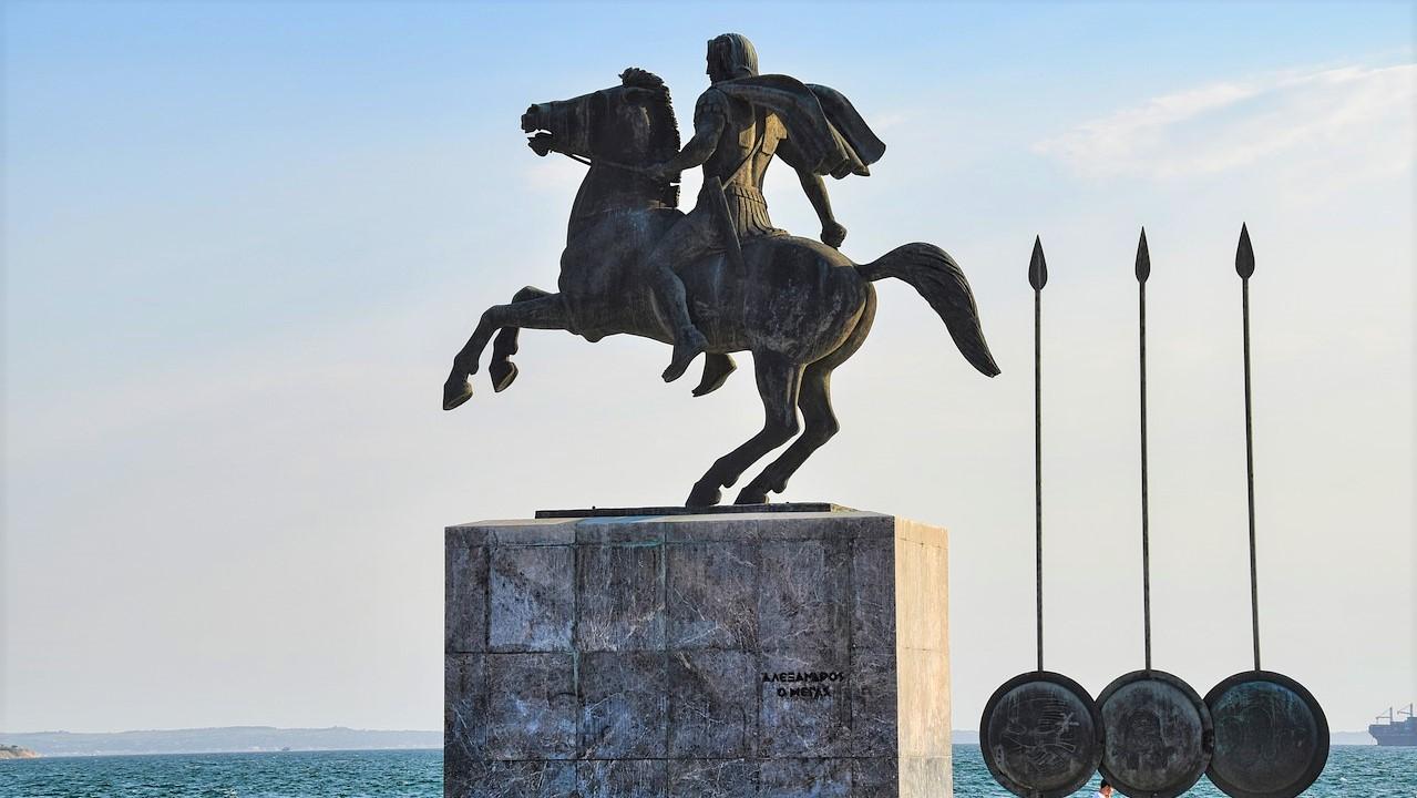Alexander der Große Bild von Thanasis P. auf Pixabay