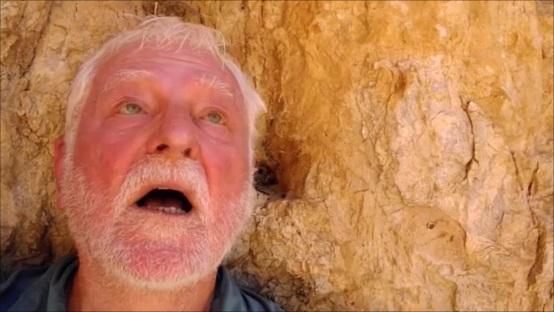 wie Elija in der Höhle